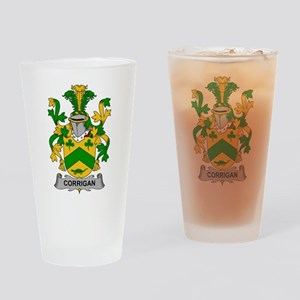 Corrigan Family Crest Drinking Glass
