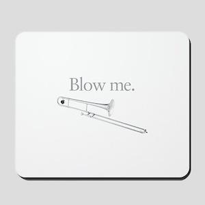 Humorous Trombone Mousepad