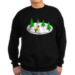 Skiing Sweatshirt (dark)