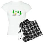 Skiing Women's Light Pajamas