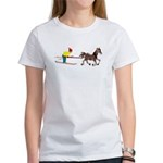 Horse Skijoring Women's T-Shirt
