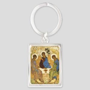 Rublev Trinity Portrait Keychain