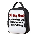 Oh My Gosh Neoprene Lunch Bag