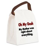 Oh My Gosh Canvas Lunch Bag