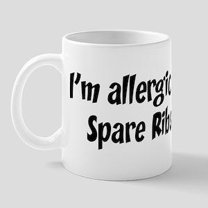 Allergic to Spare Ribs Mug