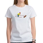 Dog Skijoring Women's T-Shirt