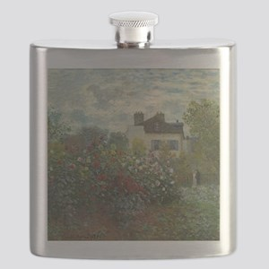 Claude Monet - The Artists Garden in Argente Flask
