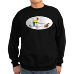 Dog Skijoring Sweatshirt