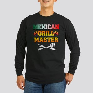 Mexican Grill Master Apron Long Sleeve T-Shirt