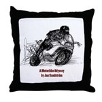 Motorbike Throw Pillow