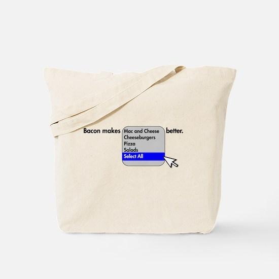 Bacon Makes Tote Bag