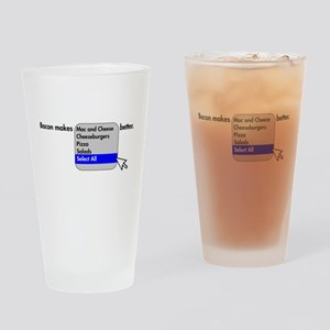 Bacon Makes Drinking Glass