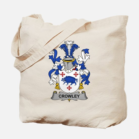 Crowley Family Crest Tote Bag