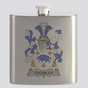 Crowley Family Crest Flask