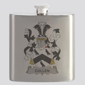 Cullen Family Crest Flask