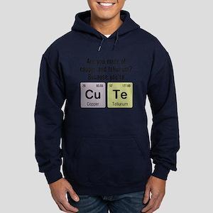 Cu Te (Cute) Chemistry Hoodie (dark)