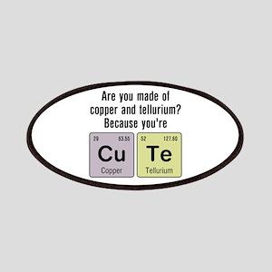 Cu Te (Cute) Chemistry Patches