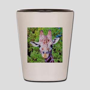 Stylized Giraffe Shot Glass