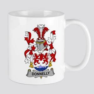 Donnelly Family Crest Mugs
