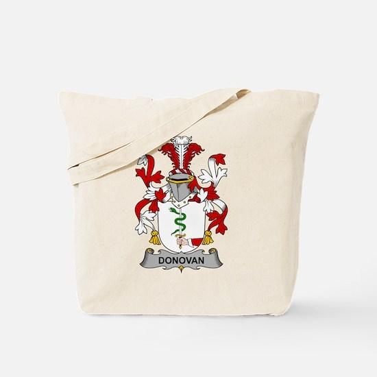 Donovan Family Crest Tote Bag