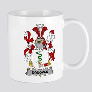 Donovan Family Crest Mugs