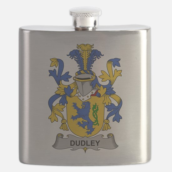 Dudley Family Crest Flask