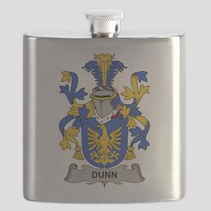 Dunn Family Crest Flask