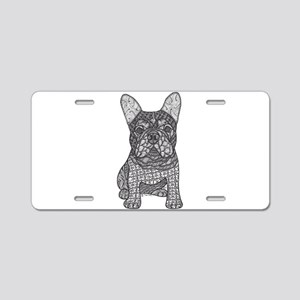 My Love- French Bulldog Aluminum License Plate