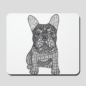 My Love- French Bulldog Mousepad