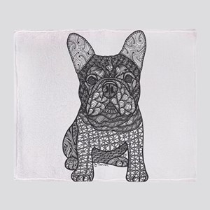 My Love- French Bulldog Throw Blanket