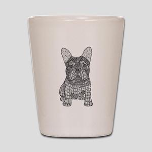 My Love- French Bulldog Shot Glass