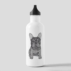 My Love- French Bulldog Water Bottle