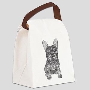 My Love- French Bulldog Canvas Lunch Bag