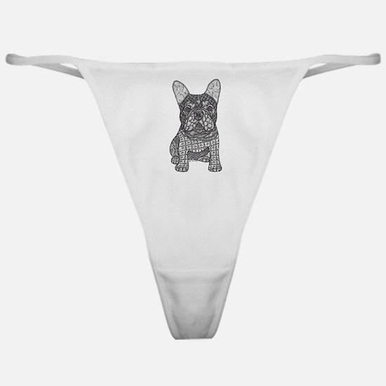 My Love- French Bulldog Classic Thong