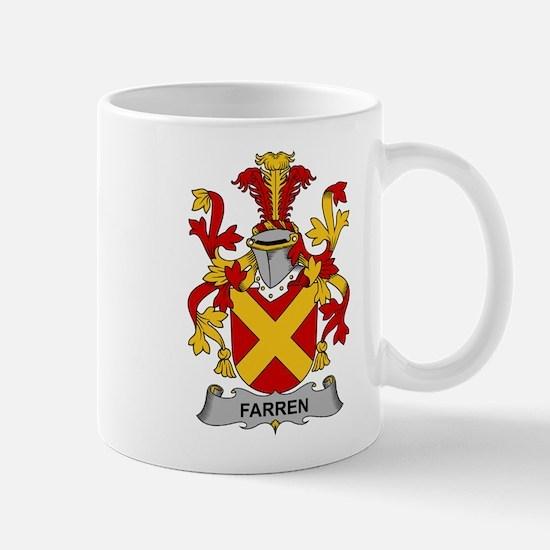 Farren Family Crest Mugs