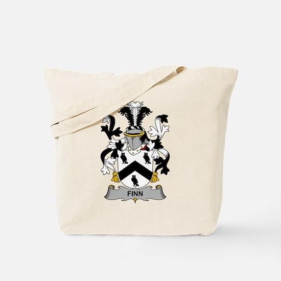 Finn Family Crest Tote Bag