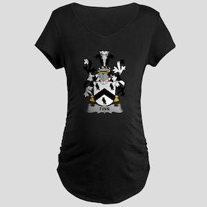 Finn Family Crest Maternity T-Shirt