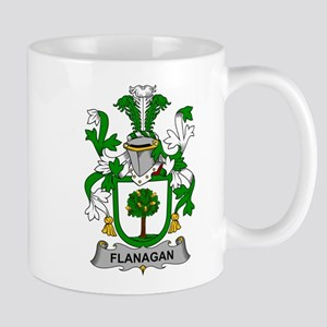 Flanagan Family Crest Mugs