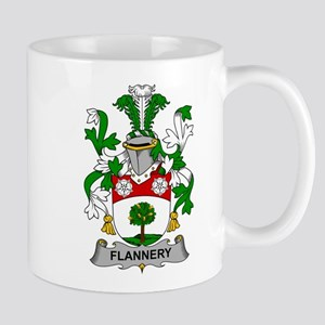 Flannery Family Crest Mugs
