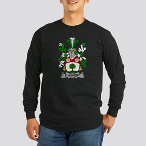Flannery Family Crest Long Sleeve T-Shirt