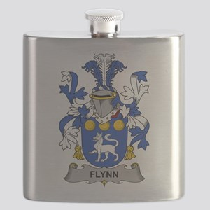Flynn Family Crest Flask