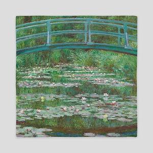 Claude Monet - The Japanese Footbridge Queen Duvet