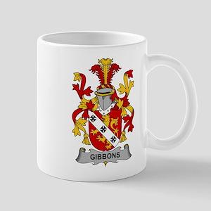 Gibbons Family Crest Mugs