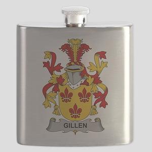 Gillen Family Crest Flask