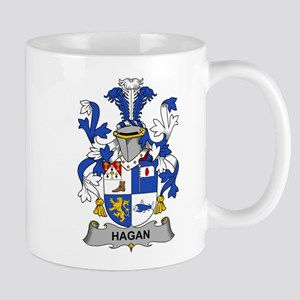 Hagan Family Crest Mugs