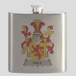Hale Family Crest Flask