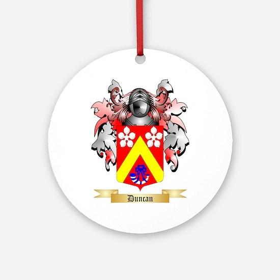 Duncan Ornament (Round)