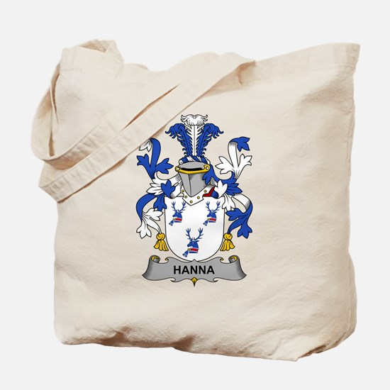 Hanna Family Crest Tote Bag
