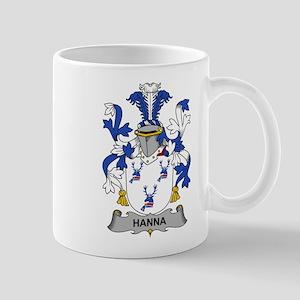 Hanna Family Crest Mugs