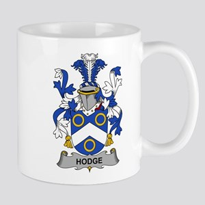 Hodge Family Crest Mugs